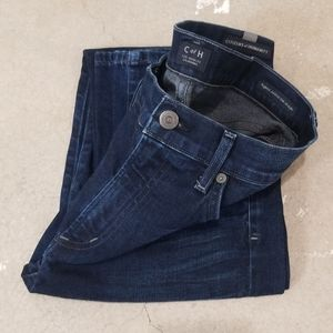 COH Agnes Midrise Slim Straight Dark Wash Jeans